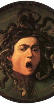 Latin – la tête de Méduse