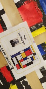 """Le quadrillage"" come Mondrian"