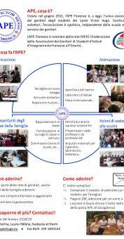 APE – Presentazione e scheda d'adesione