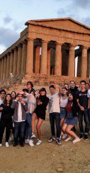 Nos lycéens en Sicile !